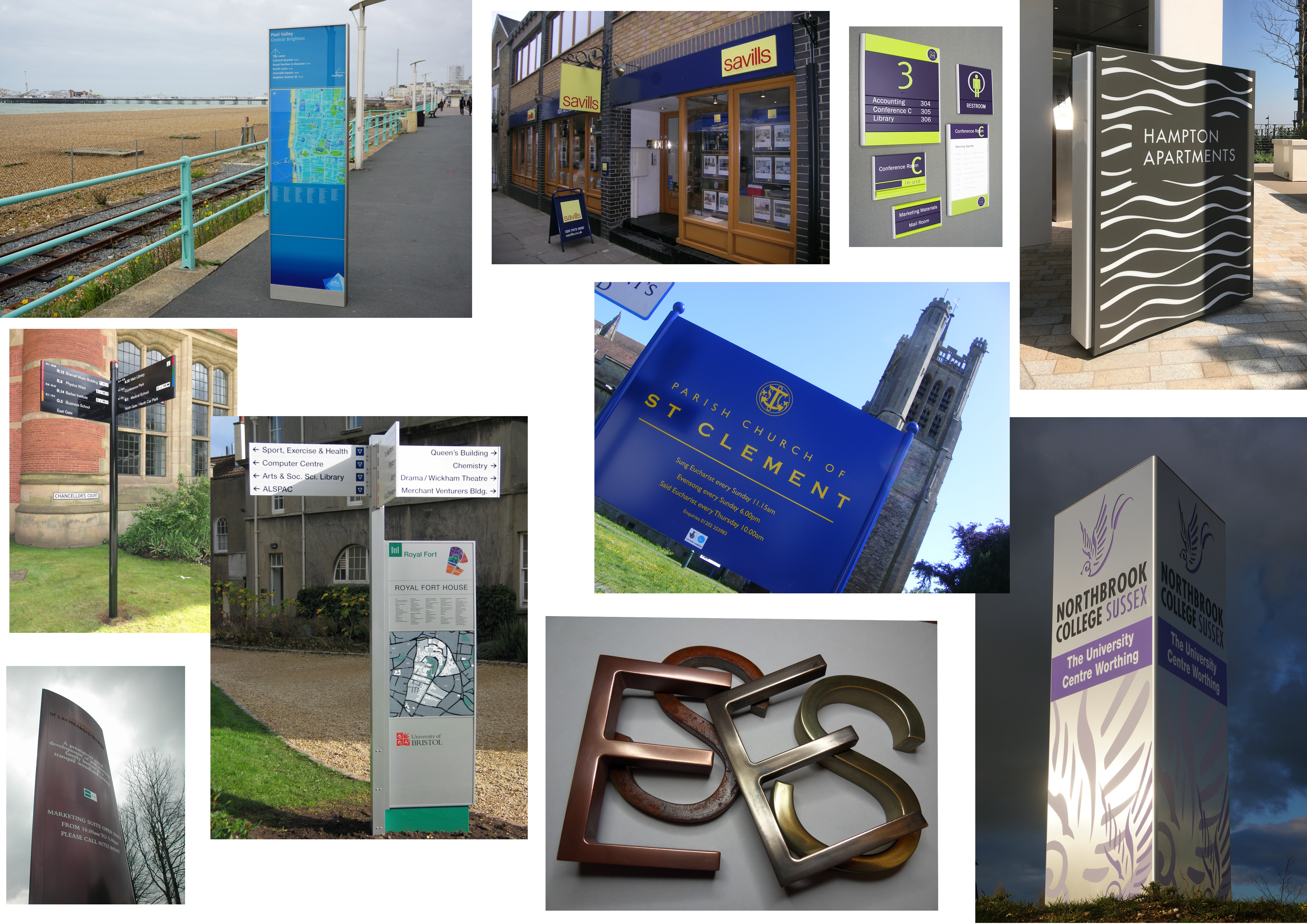 Composite image of Simplex Ltd signs