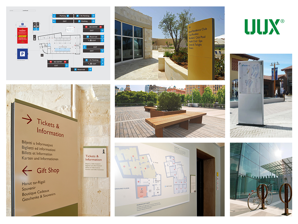 Montage of UUX projects