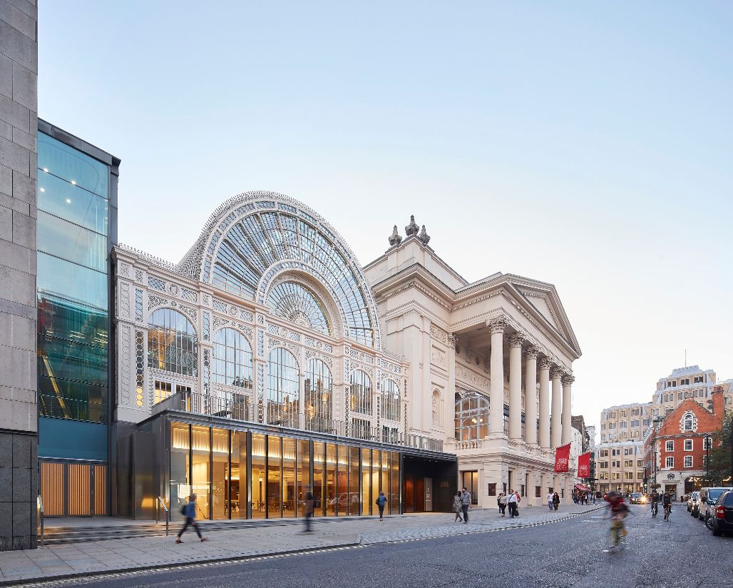External view of Royal Opera House