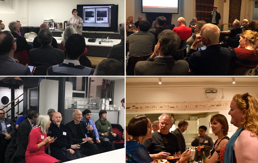 Collage of SDS seminar events