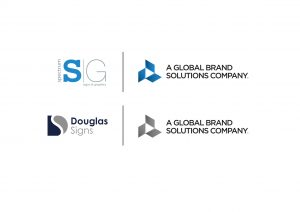 Spectrum SG (part of Global Brand Solutions) combined company logo