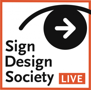 Image for Sign Design Society Live with SDS symbol