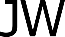 JW (John Webb) logo, black text on white background