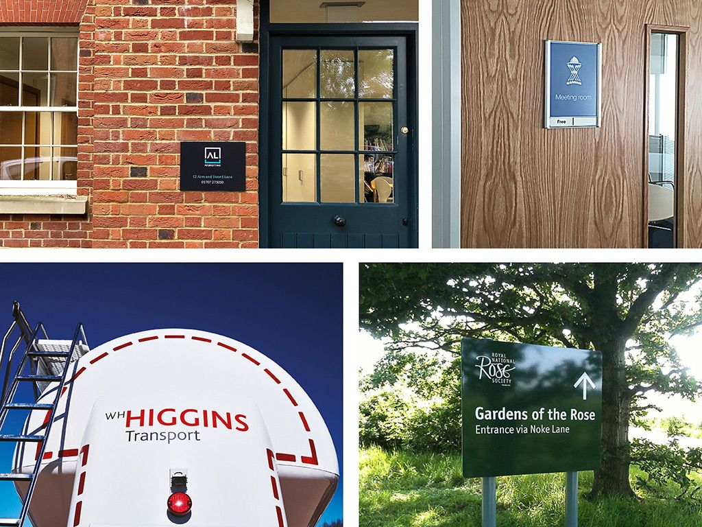 Composite image showing examples of Andrew Gardiner Associates' work