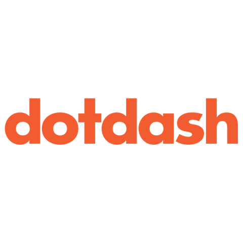 Dotdash Logo (orange text on a white background)