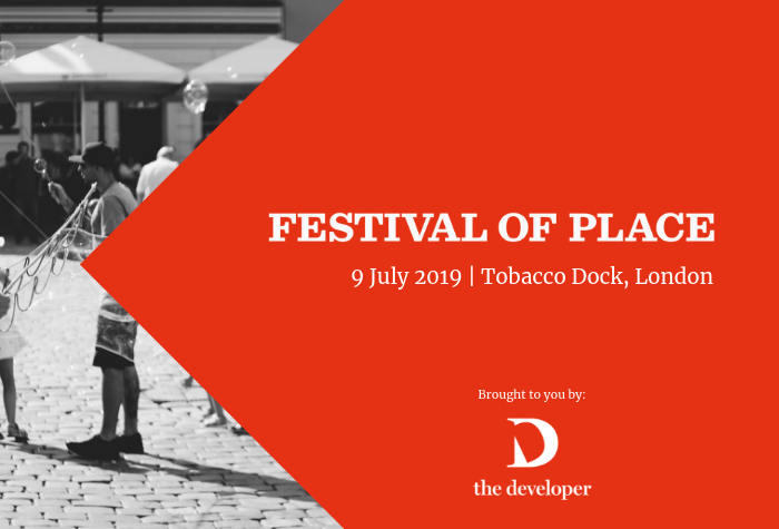 Promotional image for the 9 July 2019 Festival of Place (London)
