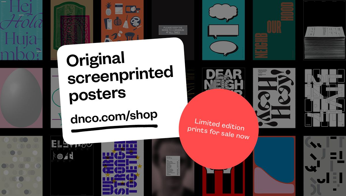Image showing dn&co.'s posters for charity promotional initiative