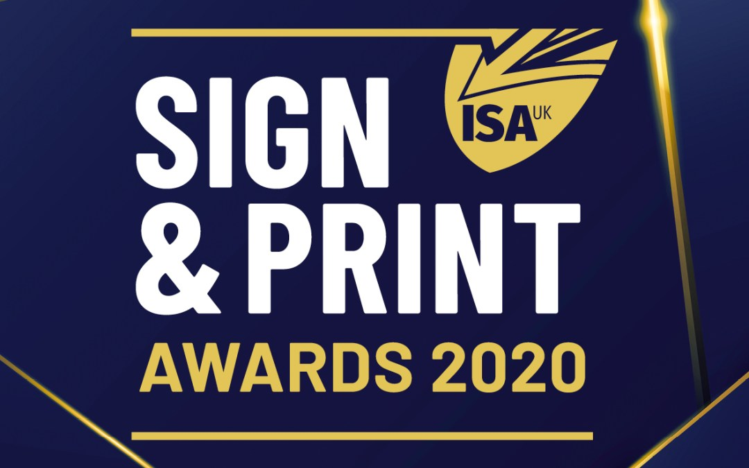ISA-UK Sign & Print Awards 2020 Logo