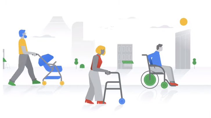 Google has launched a new feature on Google maps called 'Accessible Places', once turned on, it will show clear accessibility info within a specific location