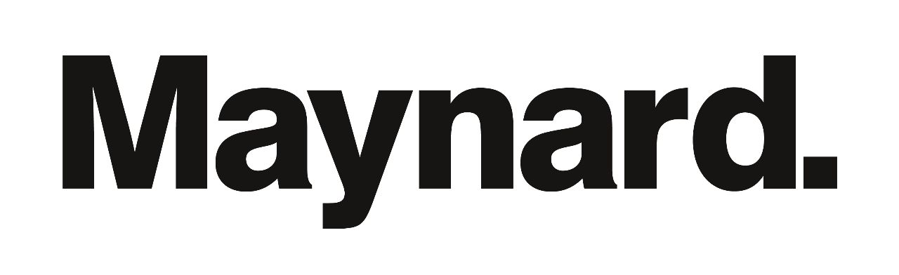 Maynard logo (black typeface on white background)