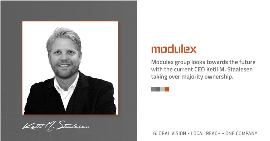 B&W image of Modulex Group CEO Ketil Staalesen